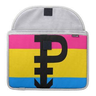 Pansexual Flag Sleeve For MacBooks