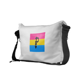 PANSEXUAL FLAG ORIGINAL COURIER BAG