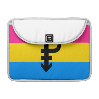 PANSEXUAL FLAG ORIGINAL -.png Sleeve For MacBook Pro