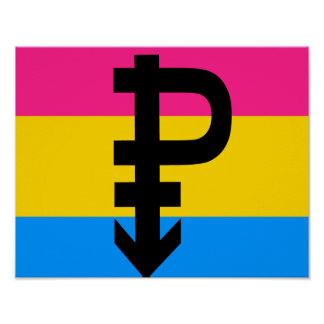 Pansexual Flag Poster