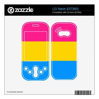Pansexual flag LG neon skin