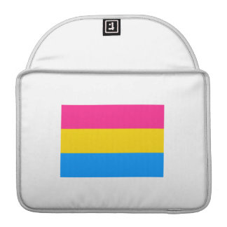 PANSEXUAL FLAG STRIPES SLEEVES FOR MacBook PRO