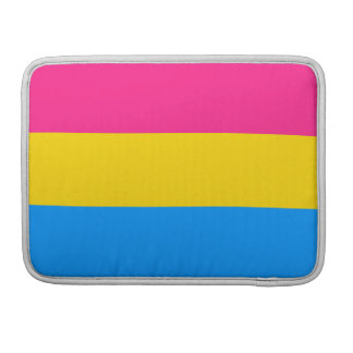 PANSEXUAL FLAG STRIPES -.png MacBook Pro Sleeve