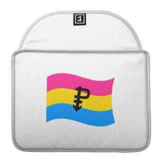 PANSEXUAL FLAG WAVING SLEEVES FOR MacBooks