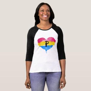 Pansexual heart shirt