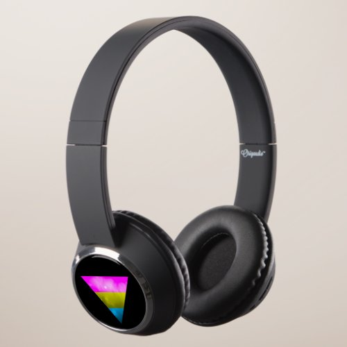 Pansexual LGBT Galaxy Stars Headphones