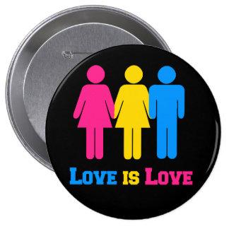 Pansexual Love Pinback Button