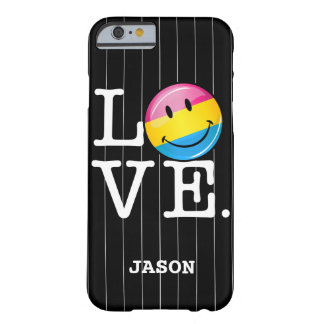 Pansexual Love Smiling Flag Barely There iPhone 6 Case