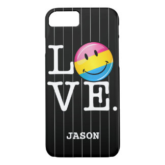 Pansexual Love Smiling Flag iPhone 8/7 Case