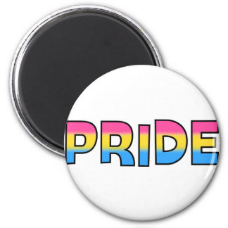 Pansexual/Omnisexual Pride 2 Inch Round Magnet