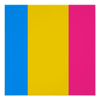 Pansexual orgulloso posters