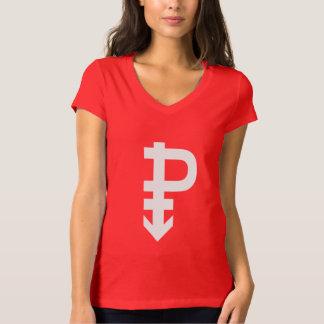 PANSEXUAL P SYMBOL WHITE T-Shirt