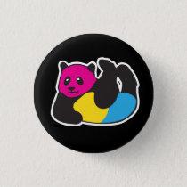 Pansexual Panda LGBT Pride Pinback Button