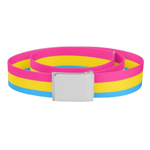 Pansexual Pride Belt