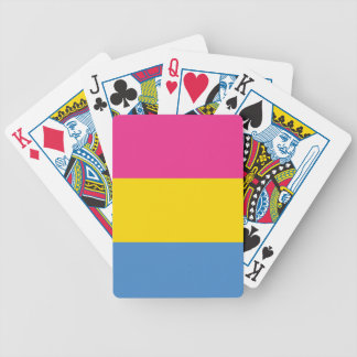 Pansexual Pride Bicycle Playing Cards