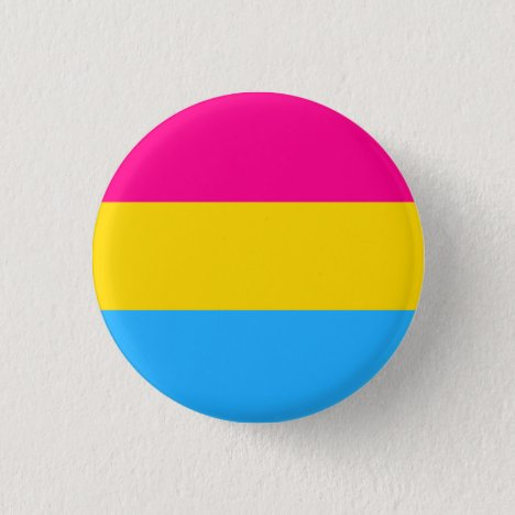 """""""PANSEXUAL PRIDE FLAG"""" 1.25-inch Pinback Button"""