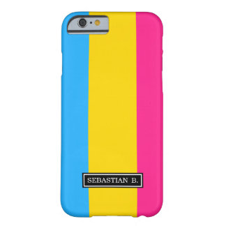 Pansexual Pride flag Barely There iPhone 6 Case