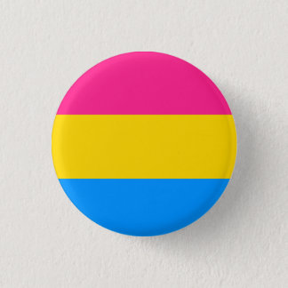 Pansexual Pride Flag Button