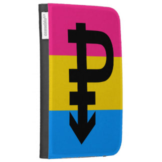 PANSEXUAL PRIDE FLAG KINDLE CASES