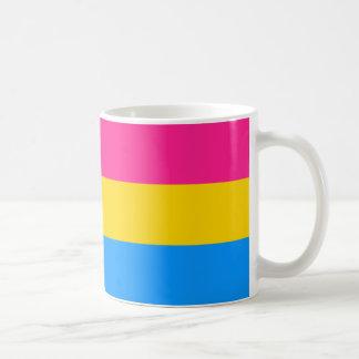 Pansexual pride flag coffee mug