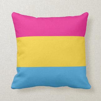 Pansexual | Pride Flag Design | Stripes | Throw Pillow