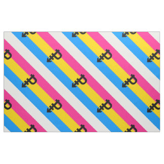 Pansexual Pride Flag Fabric