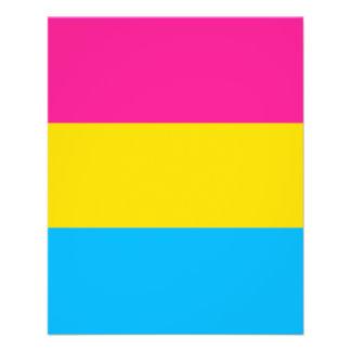 """PANSEXUAL PRIDE FLAG"" FLYER"