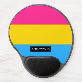 Pansexual Pride flag Gel Mouse Pad