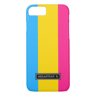 Pansexual Pride flag iPhone 8/7 Case
