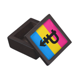PANSEXUAL PRIDE FLAG KEEPSAKE BOX