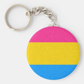 Pansexual Pride Flag Keychain
