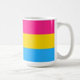 Pansexual Pride Flag LGBT 15oz Coffee Mug