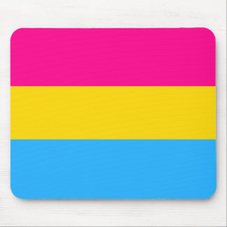 """PANSEXUAL PRIDE FLAG"" MOUSE PAD"