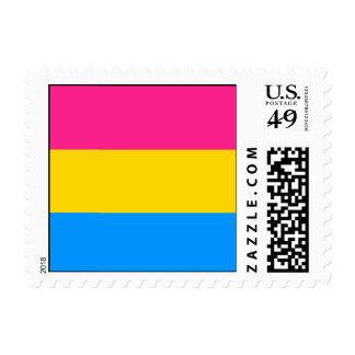 Pansexual Pride Flag Stamp