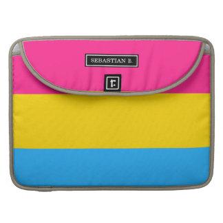 Pansexual Pride flag Sleeve For MacBook Pro