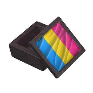 PANSEXUAL PRIDE FLAG WAVY DESIGN PREMIUM JEWELRY BOXES