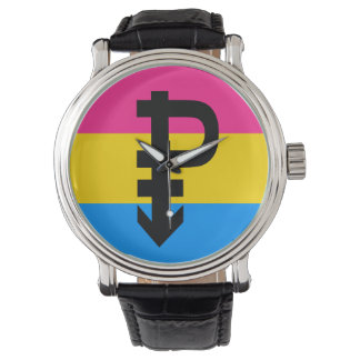 PANSEXUAL PRIDE FLAG WRISTWATCHES
