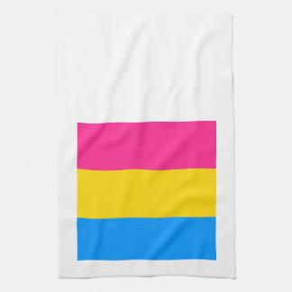 Pansexual Pride Hand Towels