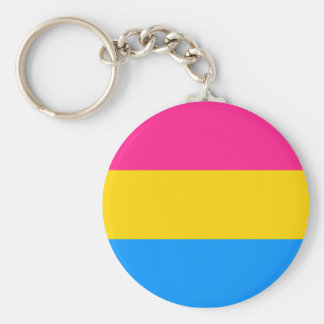 Pansexual Pride keychain