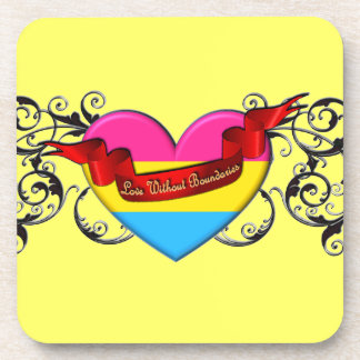 Pansexual Pride: Love Without Boundaries Coasters