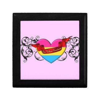 Pansexual Pride: Love Without Boundaries Keepsake Boxes