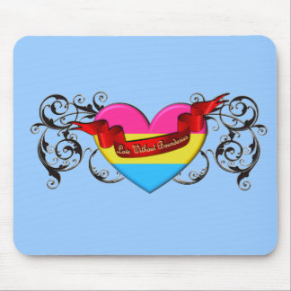 Pansexual Pride: Love Without Boundaries Mouse Pad