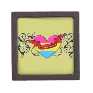 Pansexual Pride: Love Without Boundaries Premium Jewelry Box