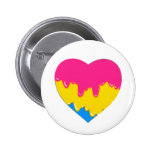 pansexual pride pinback buttons