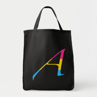 """Pansexual Pride """"Scarlet"""" Letter A Bags"""