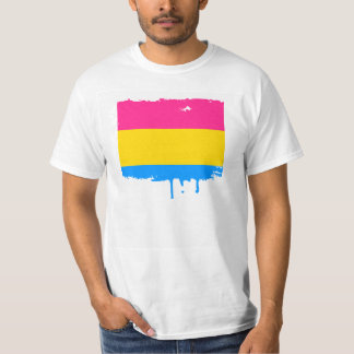 PANSEXUAL PRIDE STRIPES DESIGN T-Shirt