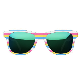 Pansexual Pride Sunglasses