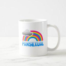 PANSEXUAL RAINBOW COFFEE MUG