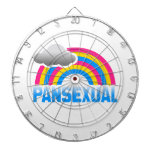 PANSEXUAL RAINBOW DART BOARDS