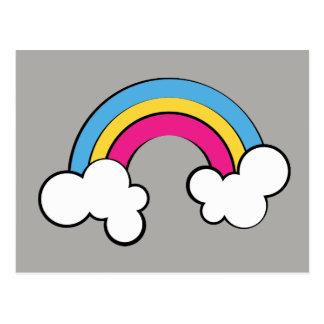 Pansexual | Rainbow Design | Postcard